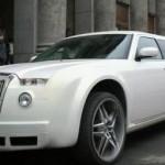 Falešná limuzína Roll-Royce