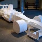 F1 z polystyrénu v měřítku 1:1