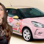 Benefit Cosmetics vytvořil zajímavý Citroën DS3 pro dámy