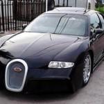 Nepovedená replika Bugatti Veyron