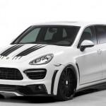 Japonský Wald upravil Porsche Cayenne