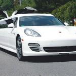 Dlouhá limuzína Porsche Panamera S