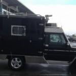 Mercedes třídy G v úpravě karavan