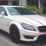 Mercedes-Benz CLS 63 AMG po zásahu tuzingu v Číně