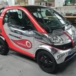 Smart Fortwo F1, aneb nový vůz stáje F1 McLAREN-MERCEDES