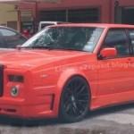 Replika Rolls-Royce Phantom postavená na Volvu