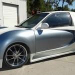 Nepovedená replika Bugatti Veyron z Hondy Civic