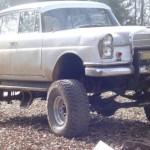 Mercedes-Benz z roku 1961 jako Monster Truck
