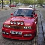 BMW E30 zasaženo tuzingem