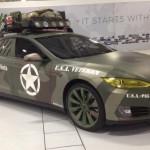 Vojenská Tesla Model S