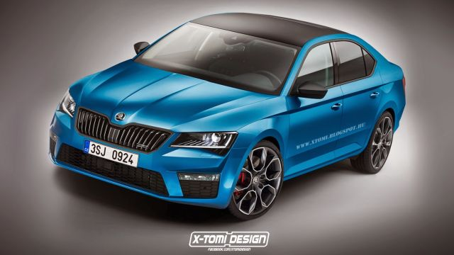 Skoda SuperB RS front2