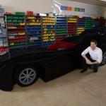 Batmobil z 500 000 kousků Lega