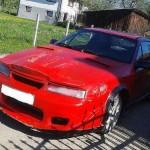 Tuzing rudého Opel Calibra