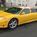 Ferrari 360 Modena jako dlouhá limuzína