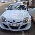 Mercedes-Benz SLK s kukučem Civicu