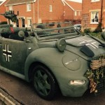 Armádní Volkswagen New Beetle (Kübelwagen)